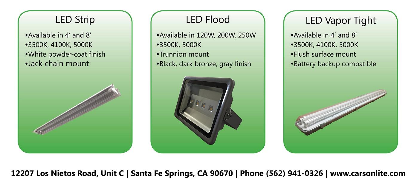 Carson Technology Co Ac Powered Led Circuit 120w Flood Lights Enkonn Ltd